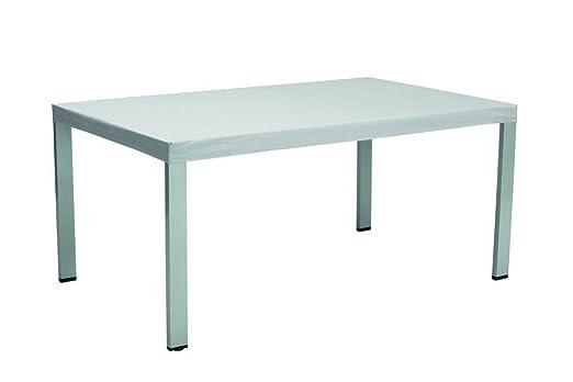 Kettler cubierta para mesa 160 x 95 cm gris: Amazon.es: Jardín