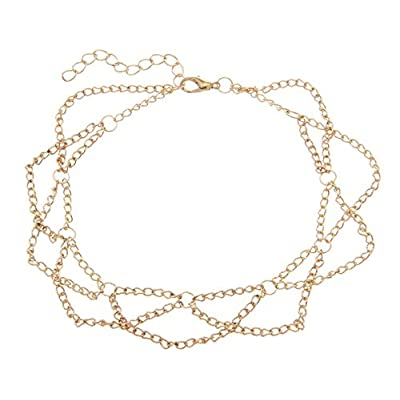 New XueXian(TM) Women Girls Gold Anklets Bracelets Chains Birthday Gifts hot sale