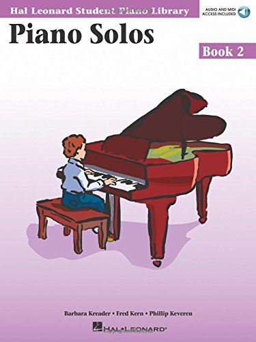 Piano Solos Book 2 - Book with Online Audio: Hal Leonard Student Piano Library (Hal Leonard Student Piano Library (Songbooks)) (2 101 Book Piano)