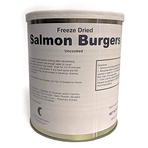 Freeze Dried Salmon Burgers