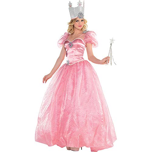 SUIT YOURSELF Glinda Halloween Costume for Women, Wizard of Oz, Large, Includes ()