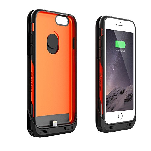 iPhone 6S Battery Case , Jackery Leaf iPhone 6S/6 Battery Case (4.7 Inches) - MFI Apple Certified 3200mAh External...