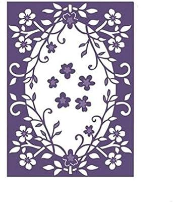 Durable Vine Flower Cutting Dies DIY Scrapbook Paper Card Album Background Decor