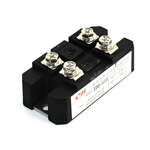 DealMux 100A 1600V Full Wave Diode Module One Phase Bridge Rectifier MDQ-100A DLM-B00NPZ8TXM