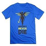 Men's Heroes Never Die Short-Sleeve T-shirt