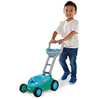 Kid Galaxy Mr. Bubble Lawn Mower Toy (Blue/Teal)