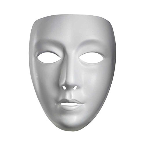 [Blank Female Mask] (Costumes For Drama)