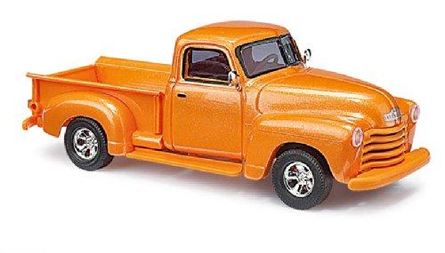 Busch Cars - BUV48232 - Modellismo - Chevrolet Pick-up - 1950 - arancione metallizzato