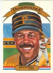 (Willie Stargell baseball card (Pittsburgh Pirates) 1982 Donruss #8 Diamond Kings)