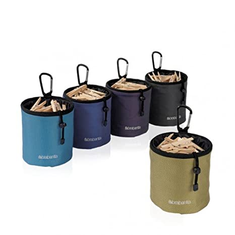 Amazon.com: Brabantia 420283 ropa Peg bags- Juego de 5: Home ...