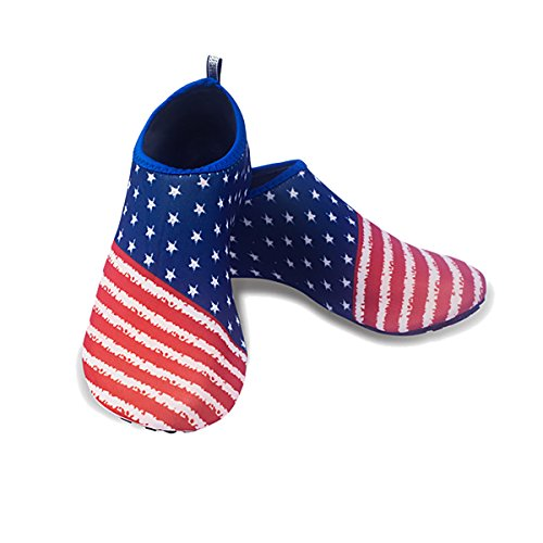 Dry and Mens Swim Shoes Water CZ Quick for Red blue Yoga Womens Barefoot Socks Sports Beach AwqRnng85