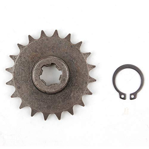 PRO CAKEN T8F 20T Front Pinion Clutch Gear Box Chain Sprocket 47cc 49cc Dirt Bike Minimoto T8F Pitch 20 Teeth