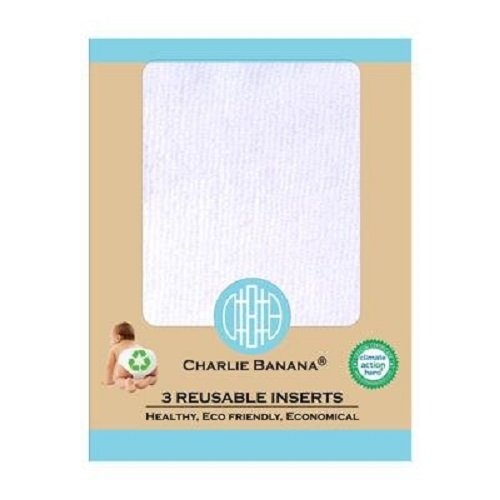 Charlie Banana 3 Reusable Inserts Small 889415