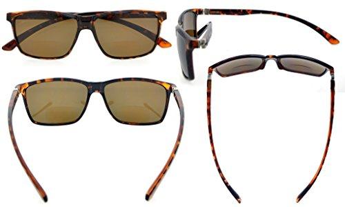 primavera 5 gafas bifocales Eyekepper negro de Bisagras gris 1 180° de Marco nbsp;marrón lente policarbonato polarizado Lente 1nx6tqtpw