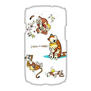 Custom Calvin And Hobbes Hard Back Cover Case for Samsung Galaxy S3(3D) OE-420