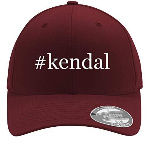 #Kendal - Adult Men's Hashtag Flexfit Baseball Hat Cap, Maroon, - Microdermabrasion Moisture