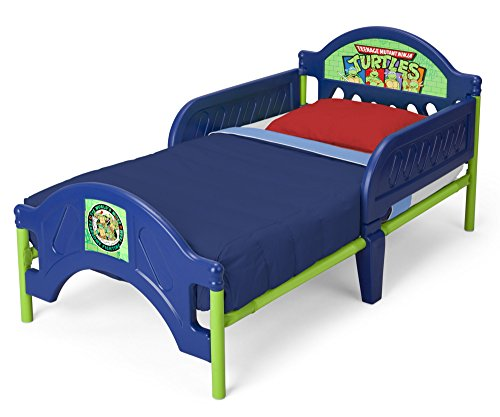 Delta Children Plastic Toddler Bed Nickelodeon Ninja