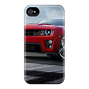 Shockproof Hard Phone Cases For Iphone 4/4s With Support Your Personal Customized Stylish Chevrolet Camaro Zl1 Pattern IanJoeyPatricia