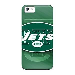 Iphone 5c ZFh18008MnFK Provide Private Custom Trendy New York Jets Skin Protective Hard Cell-phone Case -TimeaJoyce