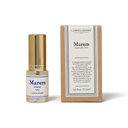 (Caswell-Massey Marem Womens Perfume - A Lush Floral Fragrance With Touches of Citrus and Amber - .5)