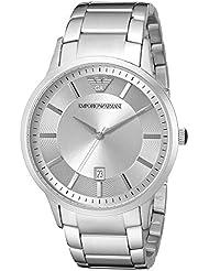 Emporio Armani Mens AR2478 Dress Silver Watch