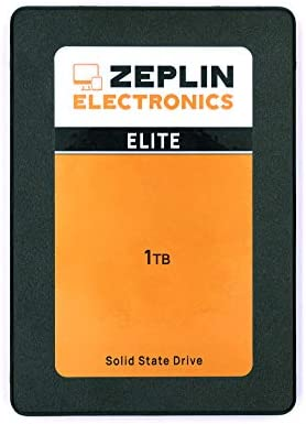 ZEPLIN ELECTRONICS SSD 1TB SATA 3 2.5 Inch three-D Nand Solid State Drive - 7mm