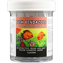 Thomas Laboratories Fish Bendazole 250mg Fenbendazole Powder (3 packets)