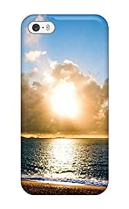 New Snap-on MyBox Skin Case Cover Compatible With Iphone 5/5s- Beach Sunrise Hd
