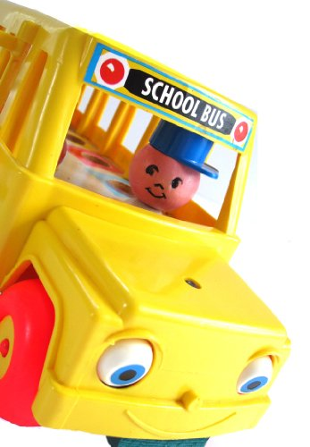 Vintage Fisher Price Little People 1965 School Bus 192 ()