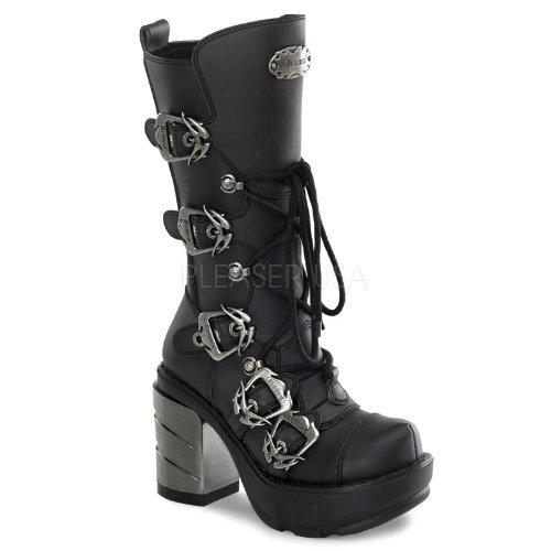 Pleaser Women's Sinister 203 B Ankle Boot,Black Polyurethane,9 M US