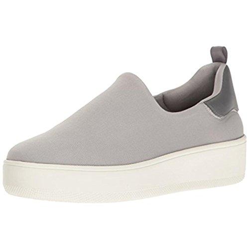 STEVEN by Steve Madden Women's Balas Fashion Sneaker Grey Fabric 10 M US