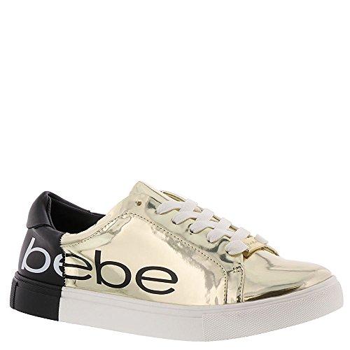 Charley bebe Women's Sneaker Gold Black 0nZnT1