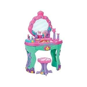 Amazon Com Disney Princess Ariel Ocean Salon Vanity The
