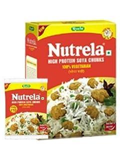 Ruchi Nutrela Soya Chunks 200g(pack of 6)