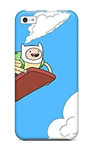 High Quality Adventure Time Tpu Case For Iphone 5c