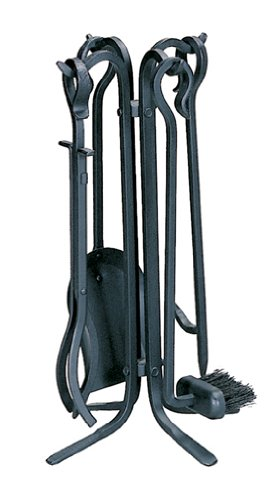 Uniflame 5 Pc Black Rustic Mini Fire Set With Crooked Handles Review