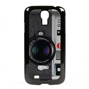 Case Fun Samsung Galaxy S4 (I9500) Vogue Case - M9 Black & Grey Camera