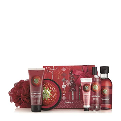 (The Body Shop Strawberry Premium Selection Medium Gift Set)