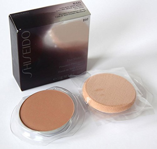 B60 Natural (Shiseido The Makeup Powdery Foundation B60 Natural Deep Beige 0.38)
