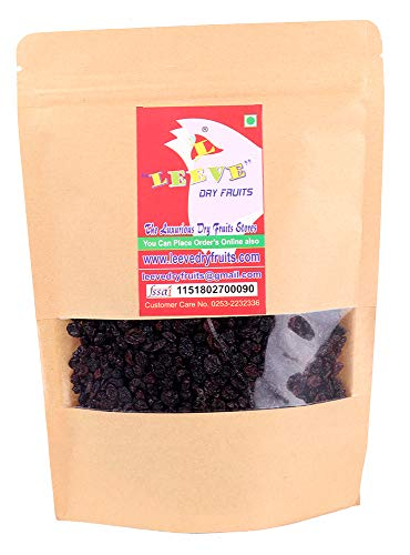 Leeve Dry Fruits Dried Black Currant, 400 gram ()