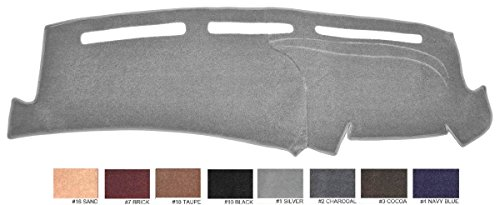94 Dash Board Cover (1994-1997 Dodge Ram All Medels Dash Cover Dashboard Cover Mat Dash Pad - Premium Custom Carpet (Silver / Grey))