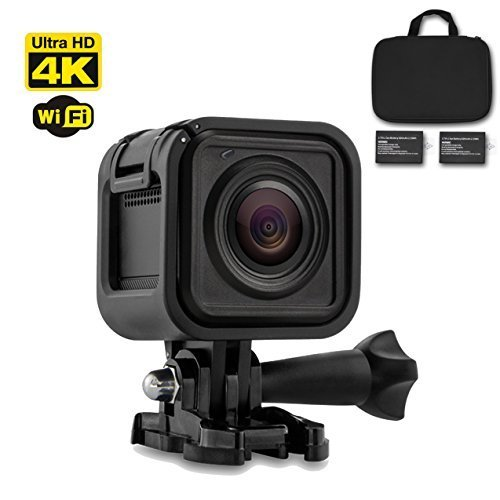 Acumen Cube 4K mini Action Camera Black Color wifi enabled Action Cam Ultra HD Waterproof DV Camcorder Action Cameras Acumen