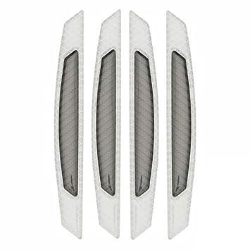 4x Car Door Edge Guard Bumper Corner Strips Trim Protector Anti-collision Grey