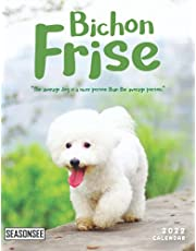 Bichon Frise Calendar 2022: Gifts for Friends and Family with 18-month Monthly Calendar in 8.5x11 inch