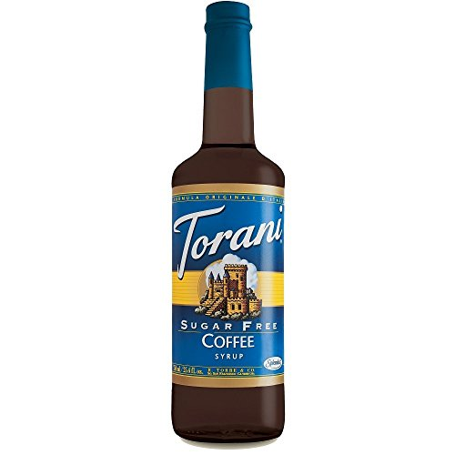 Torani Sugar Free Coffee Syrup 750mL