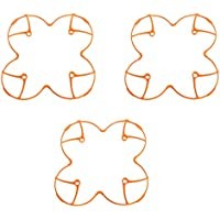 3 pcs Plastic Protection Cover for Hubsan H107 H107L V252 RC Quadcopter (Orange)