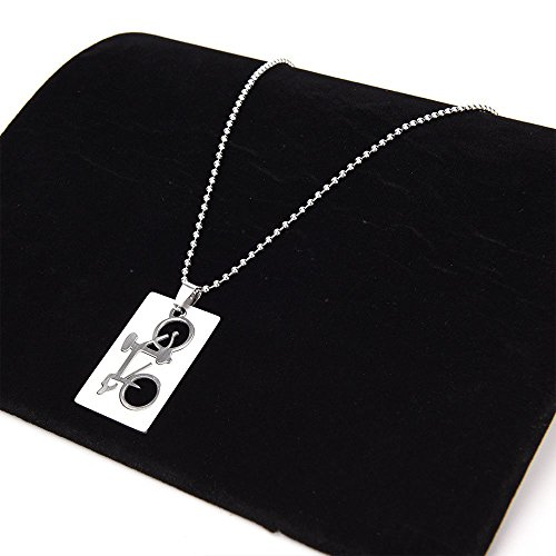 1 Piece Unisex Detachable Bicycle Pattern Fashion Jewelry Pendant Necklace Gift