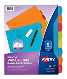 Avery 16130 Big Tab Write & Erase Durable Plastic