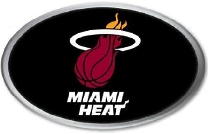 Miami Heat Color Auto Emblem