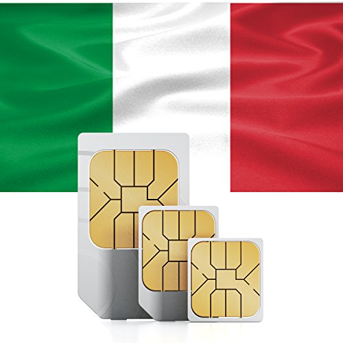 1GB of Mobile Internet data sim card to use in Italy for 30 Days Rechargeable